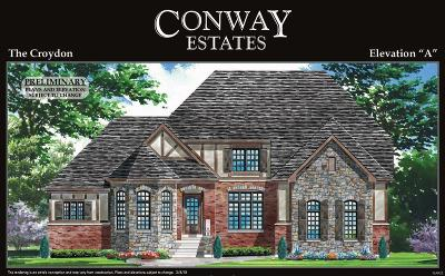Town and Country Single Family Home For Sale: 350 Upper Conway Estates Court