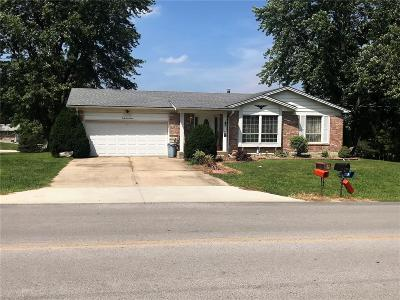 Hannibal MO Single Family Home For Sale: $129,900