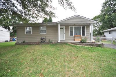 Granite City Single Family Home For Sale: 10 Tulip Avenue