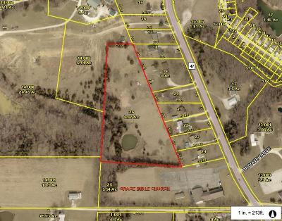 Warrenton Residential Lots & Land For Sale: 6 +/- Acres South Hwy 47