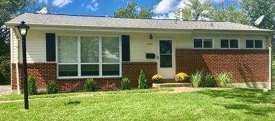 Olivette Single Family Home For Sale: 1307 Arrowhead Drive