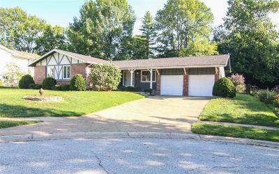 St Charles Single Family Home For Sale: 3302 Lennox Drive