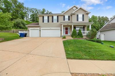 Fenton Single Family Home For Sale: 1255 Lake Canyon View