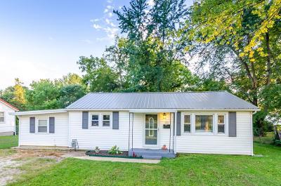 Farmington Single Family Home For Sale: 206 Burks Road