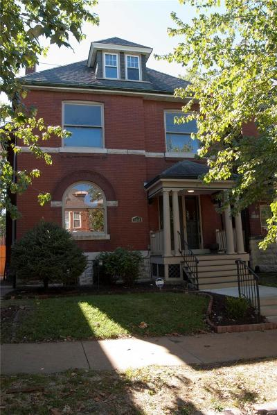 St Louis City County Single Family Home For Sale: 3666 Cleveland Avenue