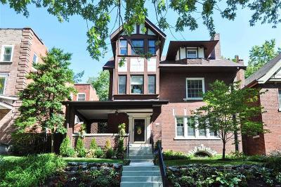 St Louis Single Family Home For Sale: 4357 McPherson Avenue