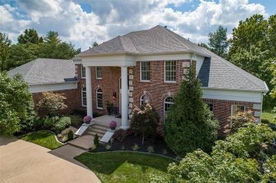 Creve Coeur Single Family Home For Sale: 12808 Bellerive Springs Drive