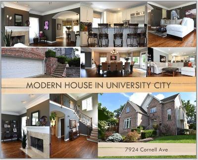 St Louis Single Family Home For Sale: 7924 Cornell Avenue