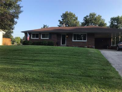 Fairview Heights Single Family Home For Sale: 11 Lakeshire
