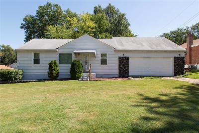 Single Family Home For Sale: 9802 Huntingdon
