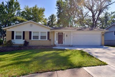 Single Family Home For Sale: 4470 Dantonaire Place