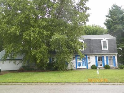 O'Fallon IL Single Family Home For Sale: $139,900
