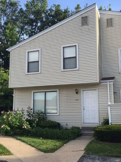 St Peters Condo/Townhouse For Sale: 639 Summer Winds Lane