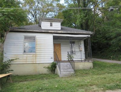 Hannibal MO Single Family Home For Sale: $9,500