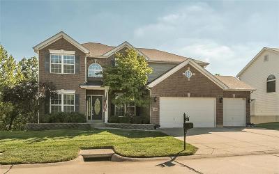 Ballwin Single Family Home For Sale: 1368 Kiefer Bluffs