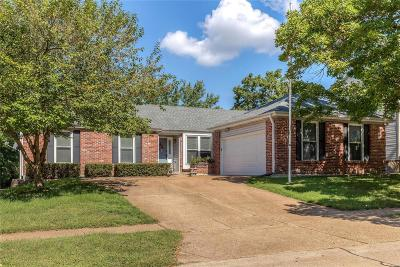 St Louis County Single Family Home For Sale: 16486 Hollister Crossing Drive