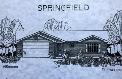 Franklin County Single Family Home For Sale: Lot 72 Springfield, Runway Dr