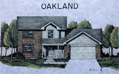 St Clair Single Family Home For Sale: Lot 74 Oakland, Runway Dr