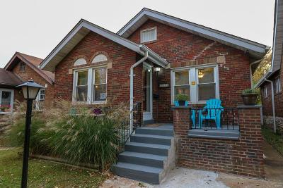 St Louis Single Family Home For Sale: 3920 Burgen Avenue