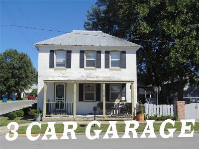 St Jacob Single Family Home For Sale: 212 North Douglas Street
