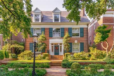 Central West End Single Family Home For Sale: 6 Lenox Place
