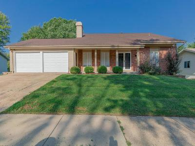 St Louis Single Family Home For Sale: 12525 Woodstream