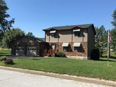 Hannibal MO Single Family Home For Sale: $186,000