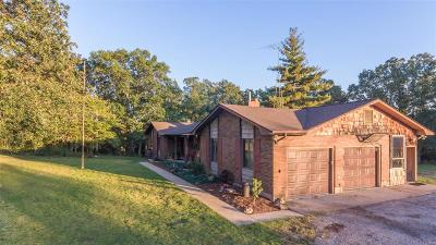 Lonedell, Luebbering Single Family Home For Sale: 3849 Highway 47 Road