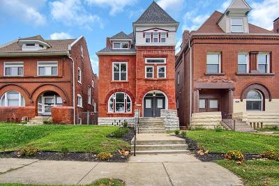 St Louis Single Family Home For Sale: 4261 Washington