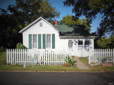 Hannibal MO Single Family Home For Sale: $55,000