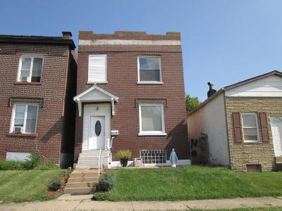 St Louis Single Family Home For Sale: 3514 Grace Avenue