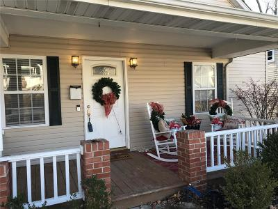 Edwardsville IL Single Family Home For Sale: $165,000