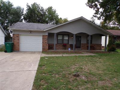 St Louis MO Single Family Home For Sale: $127,500