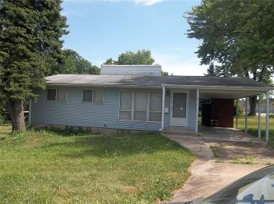 Single Family Home For Sale: 6324 Graham
