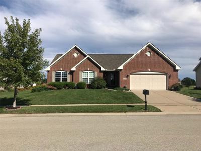O'Fallon Single Family Home For Sale: 1410 Sauk Trail