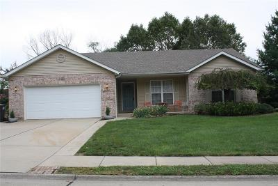 Valmeyer Single Family Home For Sale: 222 North Cedar Bluff