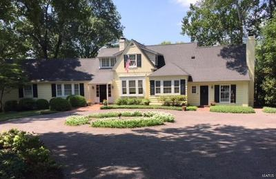 Single Family Home For Sale: 811 South Warson Road