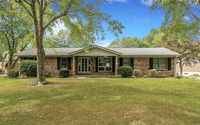 Ellisville Single Family Home Contingent Short Sale: 310 Keighly Drive