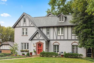 Webster Groves Single Family Home Contingent w/Kickout: 157 Helfenstein Avenue