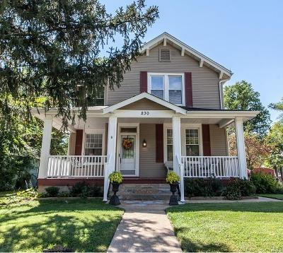 Webster Groves Single Family Home For Sale: 230 Simmons Avenue