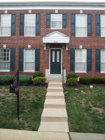 Ellisville Single Family Home For Sale: 419 Parkview Place Drive