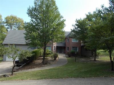 Hannibal MO Single Family Home For Sale: $274,650