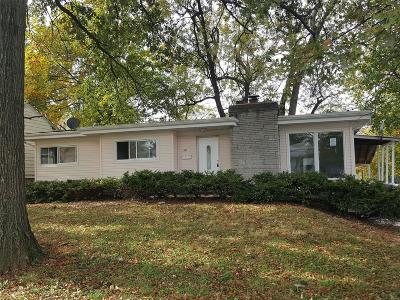 Single Family Home For Sale: 6129 Evergreen