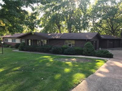 Ballwin Single Family Home Contingent No Kickout: 309 Glyn Cagny Road