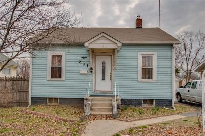 East Alton, Wood River, Roxana Single Family Home For Sale: 271 South Central Avenue