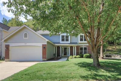 Ballwin Single Family Home For Sale: 347 Buckhurst Drive