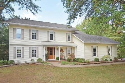 St Charles Single Family Home Contingent No Kickout: 3426 Bluff View Drive