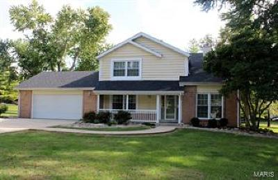 Collinsville Single Family Home For Sale: 5606 Woodland Drive