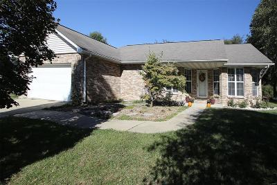 Freeburg Single Family Home For Sale: 307 East Meadow Brook Drive