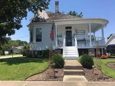 Red Bud Single Family Home For Sale: 523 South Main Street